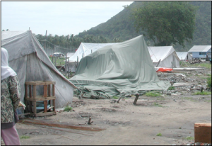 The Temporary Shelter Initiative is a joint endeavor by UNORC and the  IFRC to alleviate the suffering of the IDPs throughout the Tsunami affected regions.